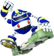 Sonic Riders Velocity E 10000b Artwork