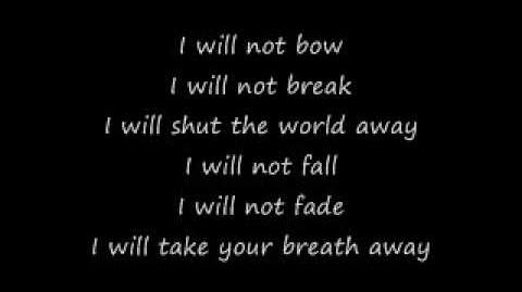 Breaking Benjamin - I Will Not Bow (Lyrics)