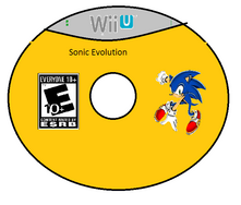 Sonic Evolution Wii U Disc