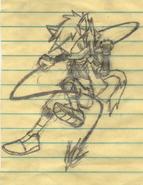 Lyn rough sketch