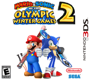 Mario & Sonic at the Olympic Winter Games 2 3DS Boxarts