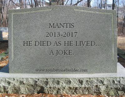 Mantis' Tombstone
