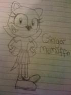Ginger on paper
