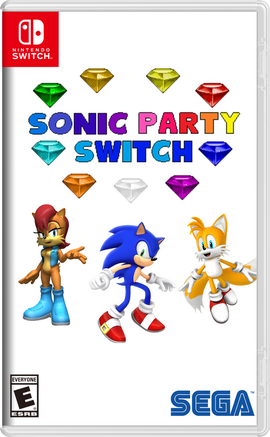 Sonic Party Switch Boxart