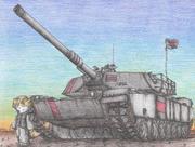 AMA captured tank