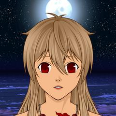 Wampirza Editta jako postać Anime (Człowiek)