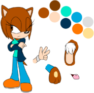 Jasmine the Hedgehog Ref