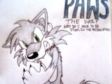 Paws the Wolf (Lippies V.3)
