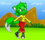 Aloe the fox