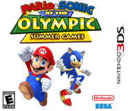 Mario & Sonic at the Olympic Summer Games 3DS Boxarts