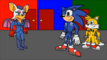 Sonic, Tails and Rouge