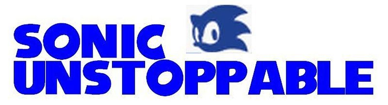 Sonic Unstoppable Logo