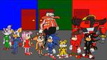 Main Cast in Sonic Adventures