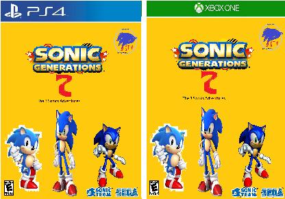 Sonic Generations 2: The 3 Sonics Adventures   Sonic Fanon