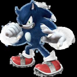 Sonic the werehog 2018 render by nibroc rock dcq9mog-pre