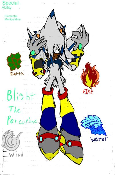 Blight The Porcupine