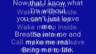 Bring Me to Life - Evanescence-0