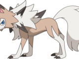 Lucas the Lycanroc