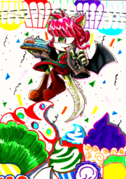 PC Dragon and Cupcakes