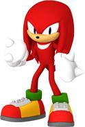 Sonic 2020 Knuckles Render 3D