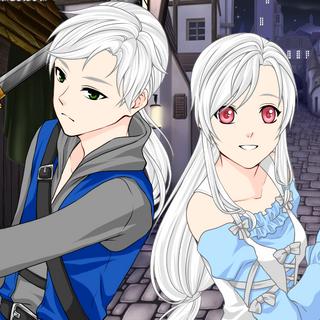 Taichi i Machiko jako postacie Anime (Ludzie)