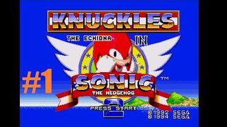 Zagrajmy w Knuckles in Sonic the Hedgehog 2 ( 1) - Szmaragdy trzeba zbierać
