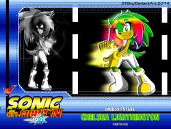 Midori Lightnington -Fighter Card -06-