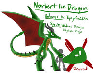 Norbert the dragon revived