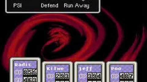 Earthbound - Battle against Giygas Part One