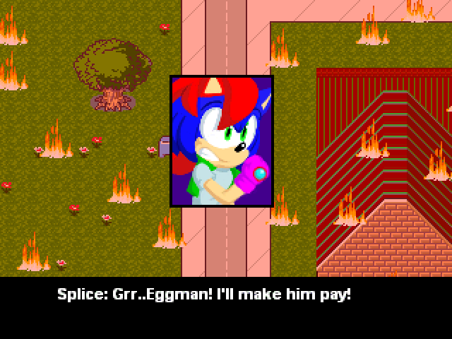 Splice The Hedgehog (RPG Fangame) | Sonic Fanon Wiki