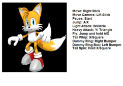 Tails' Controls
