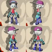 Sprite the Hedgehog (Side Profile)