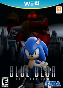 Blue Blur Game Cover (Front)