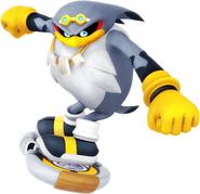 Sonic Riders Velocity Strom Artwork