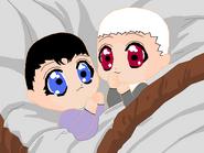 Baby Nega Kino and Ohka