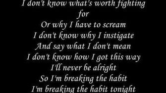 Linkin Park - Breaking The Habit-1