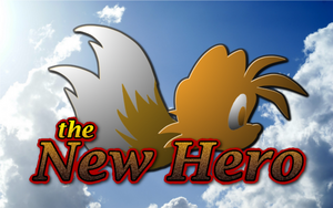 The New Hero title 3 (with sky background)