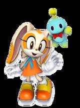 Cream the Rabbit (BearfootTruck's Universe)