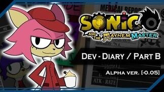 Sonic and the Mayhem Master Dev Diary Update Progress - Part B