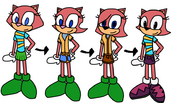 Maxie throughout the years