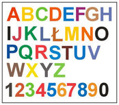 Synesthesia letters