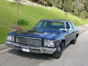 1976-77 Plymouth Gran Fury unmarked