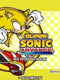 Super Sonic Advance Logo