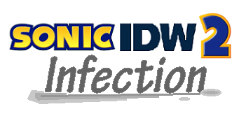Sonic IDW 2 Infection logo
