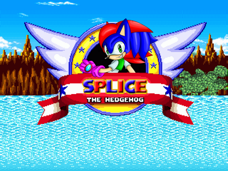Splice the hedgehog title screen current by frost1992-d7blbs8-1-