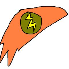 Orange Bolt - deskolotka Hedgeralda