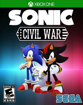 Sonic the Hedgehog Civil War Game Cover