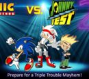 Sonic the hedgehog Vs. Johnny Test: Triple Trouble Mayhem (Private RP)