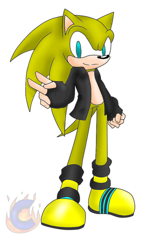 Electric The Hedgehog Sonic Fanon Wiki Fandom