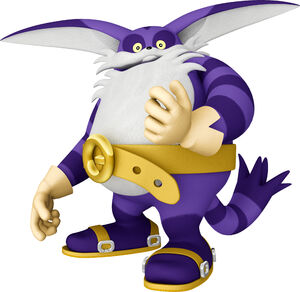 Big the cat official 3D render